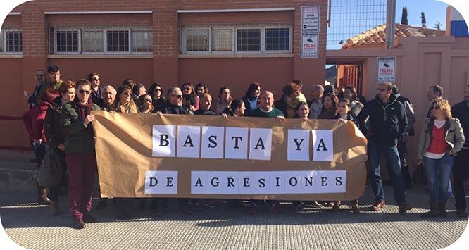 Los profesores del IES Santa Lucía se plantan ante las agresiones de los alumnos